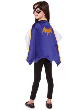 Girl's DC Super Hero Batgirl Cape Set
