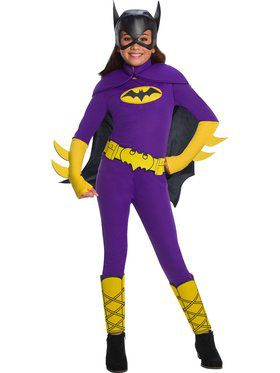 DC Super Hero Girls Batgirl Deluxe Child Costume