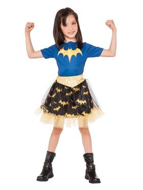 Girl's DC Super Hero Batgirl Skirt