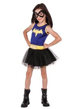 Girl's DC Super Hero Batgirl Tank Dress