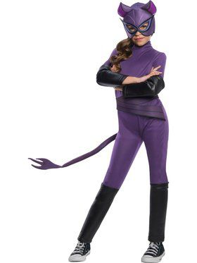 DC Super Hero Girls Catwoman Child Costume