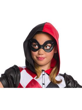 DC Collection Super Hero Harley Quinn 2018 Halloween Masks for Girl