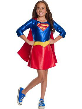 DC Super Hero Girls Supergirl Deluxe Child Costume