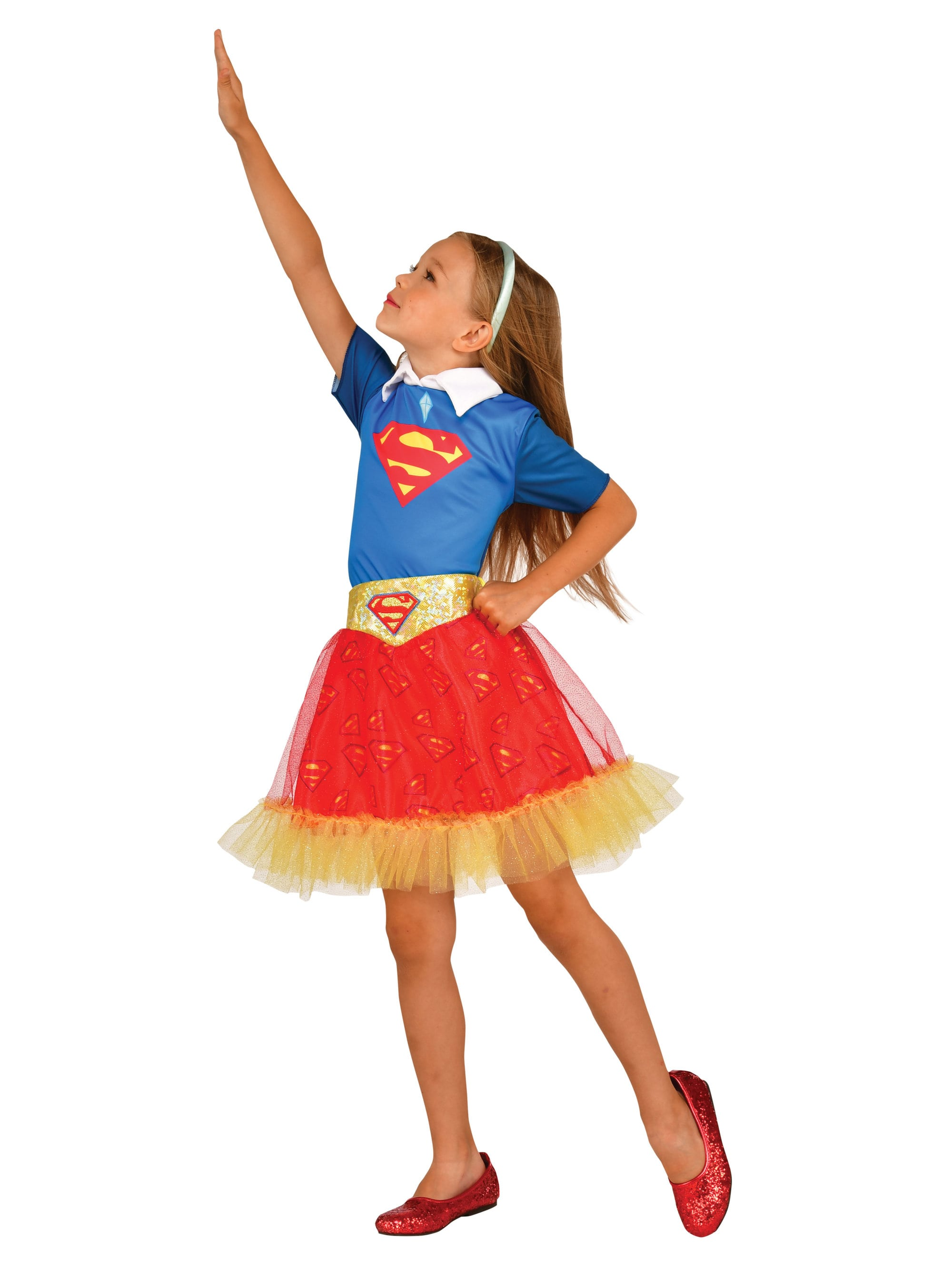 Girlu0027s DC Super Hero Supergirl Skirt - Girls 2018 Halloween Costume Accessories | BuyCostumes.com  sc 1 st  BuyCostumes.com & Girlu0027s DC Super Hero Supergirl Skirt - Girls 2018 Halloween Costume ...