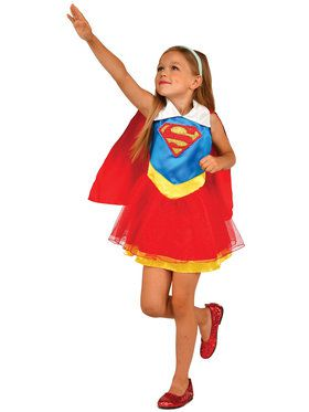Girl's DC Super Hero Tank Dress