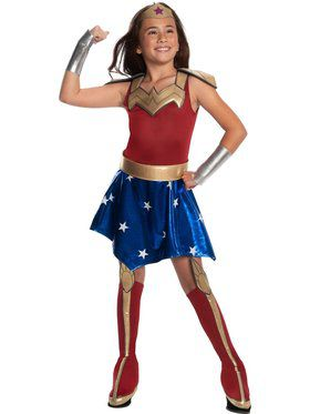 DC Super Hero Girls Wonder Woman Deluxe Child Costume
