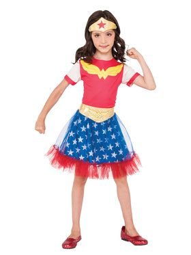 Girl's DC Super Hero Wonder Woman Skirt