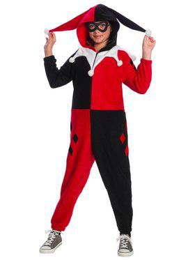 DC Super Heroes Harley Quinn Child Onesie Child Costume