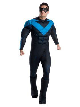 DC Super Heroes Nightwing Deluxe Adult Costume