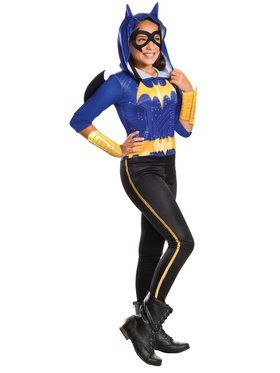 Girl's DC Superhero Girls Batgirl Costume