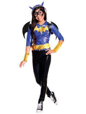 Girl's DC Superhero Girls Batgirl Deluxe Costume