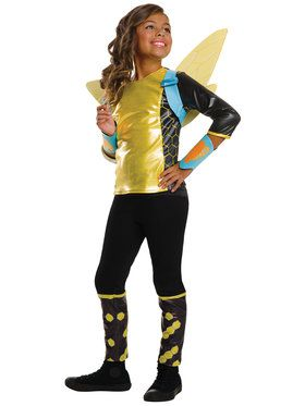 Girl's DC Superhero Girls Bumblebee Deluxe Costume