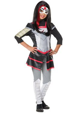 Girl's DC Superhero Girls Katana Deluxe Costume