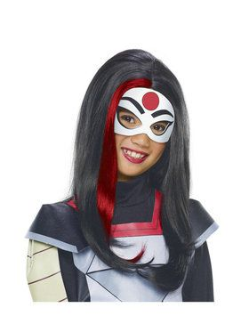 DC SuperHero Girls Katana Wig