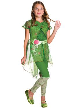 Girl's DC Superhero Girls Poison Ivy Deluxe Costume
