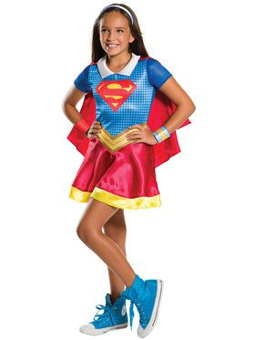 Girl's DC Superhero Girls Supergirl Costume