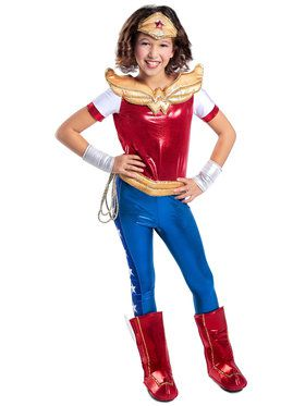 Girl's DC Superhero Girls Wonder Woman Deluxe Costume