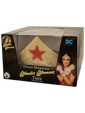 DC SUPERHERO - Wonder Woman Deluxe Tiara One-Size