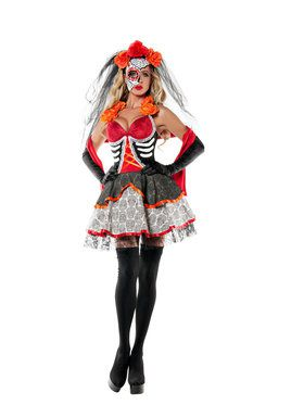 Dead Beauty Adult Costume