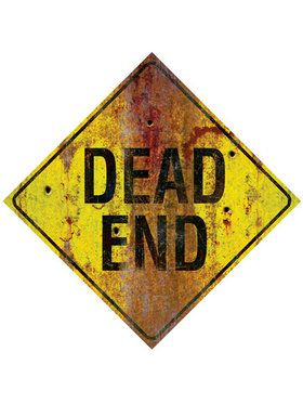Dead End Metal Sign