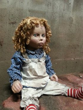 Animated Deadly Doll Prop