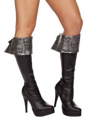 Deadly Pirate Costume Boots Cuff 2018 Halloween Costume Accessories
