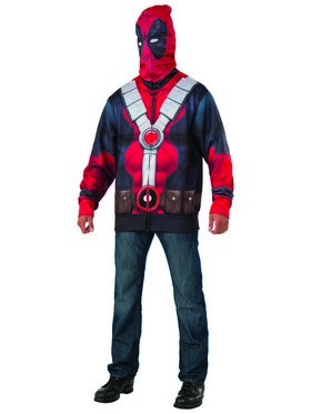 Deadpool 2 Mens Classic Deadpool Hoodie