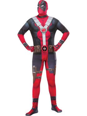 Adult's Deadpool Skin Costume