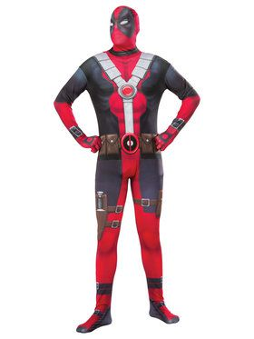 Deadpool Adult 2nd Skin X-Large Costume