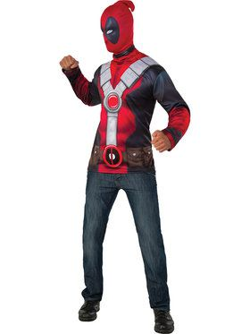 Deadpool Adult Costume Top XL