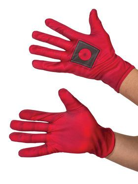 Deadpool Gloves for Adults