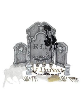 Deluxe 31 Piece Assortment Graveyard Kit