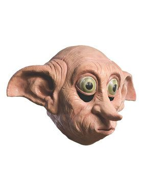 Deluxe Adult Dobby Latex Mask