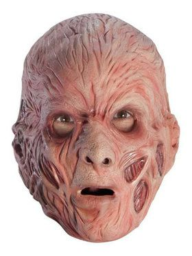 Deluxe Adult Freddy Krueger Overhead Latex Mask