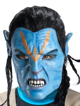 Deluxe Adult Jake Sully Foam Latex Mask