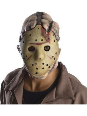 Deluxe Adult Jason Latex Mask