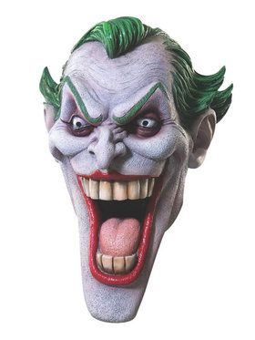 Deluxe Latex Joker 2018 Halloween Masks For Adults