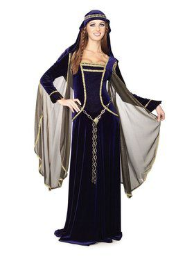 Deluxe Adult Renaissance Queen Adult Costume