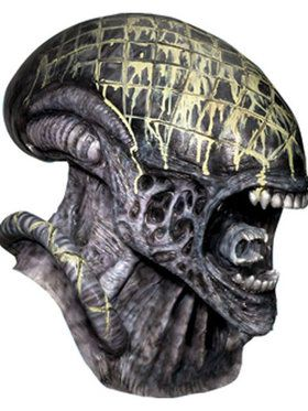 Deluxe Alien Tm Overhead Latex Mask Adul