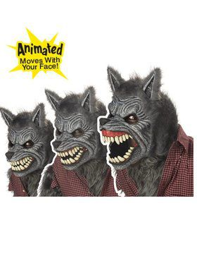 Ani-Motion Deluxe Werewolf Costume 2018 Halloween Masks