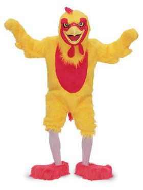 Adult Chicken Costume Idea