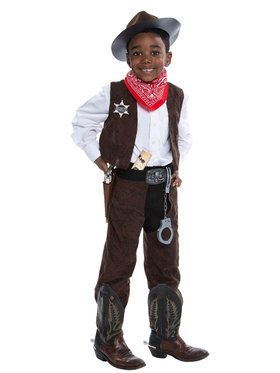 Deluxe Cowboy Costume Kit  sc 1 st  BuyCostumes.com & Kidu0027s Western and Native American - Kids Halloween Costumes ...