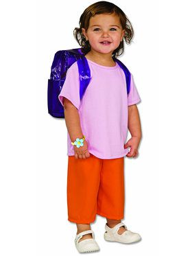 Deluxe Dora the Explorer Toddler Costume