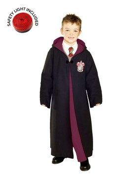 deluxe gryffindor tm robe child