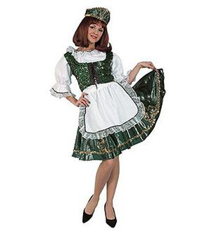 Women's Irish Dancer Costume Deluxe