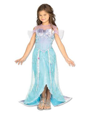 Childs Mermaid Deluxe Costume