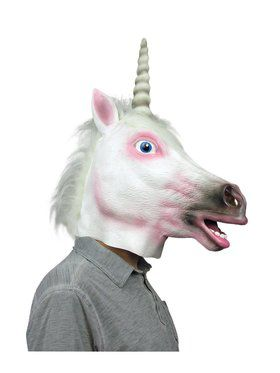 Unicorn Latex 2018 Halloween Masks for Adults