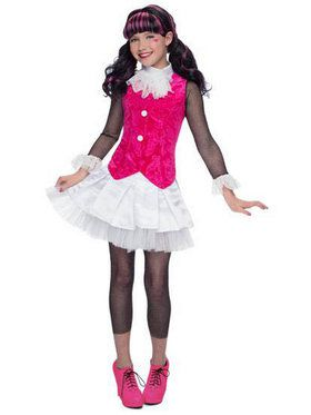 Deluxe Monster High Draculaura Girls Costume