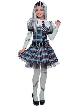 Deluxe Monster High Frankie Stein Girls Costume