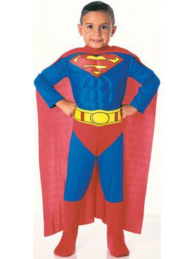 Deluxe Muscle Chest Superman Tm Child